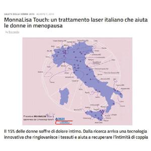MonnaLisa Touch: un trattamento laser italiano che aiuta le donne in menopausa